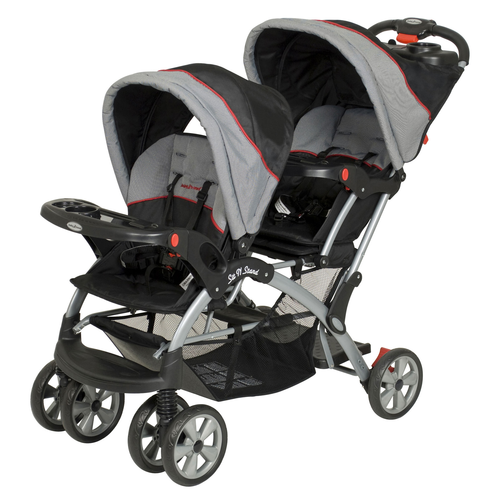 Baby Trend Sit N Stand Plus Double Stroller Millennium