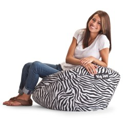 Cheetah Print Bean Bag Chair Mickey Mouse Club Ethan Allen Big Joe 98 In Lounger Zebra Bags At