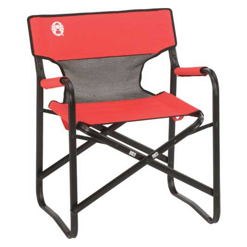Coleman Camping Portable Deck Chair  Lawn Chairs at Hayneedle