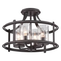 Designers Fountain Palencia 87511-APW Semi-Flush Mount ...