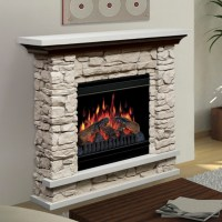 Dimplex Lincoln Stone Electric Fireplace at Hayneedle
