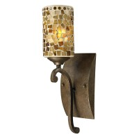 Springdale Lighting Knighton Mosaic Wall Sconce - Wall ...