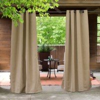 Coral Coast Sunbrella Outdoor Curtain Panel
