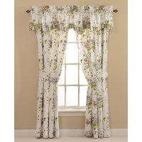 Waverly Sweet Violets Window Curtain Set at Hayneedle