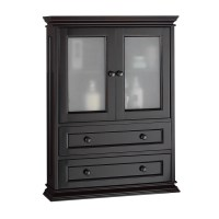 Foremost Berkshire Espresso Bathroom Wall Cabinet