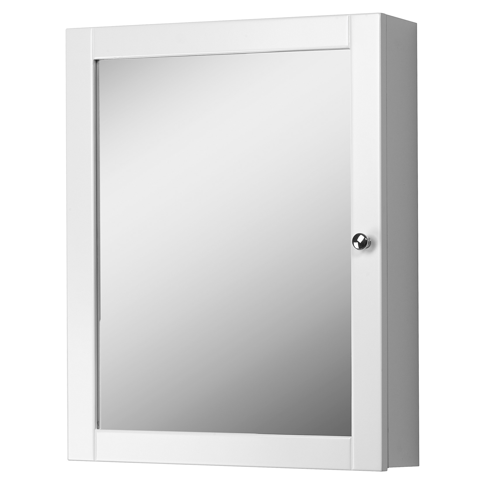 Foremost Columbia 19in White Bathroom Medicine Cabinet
