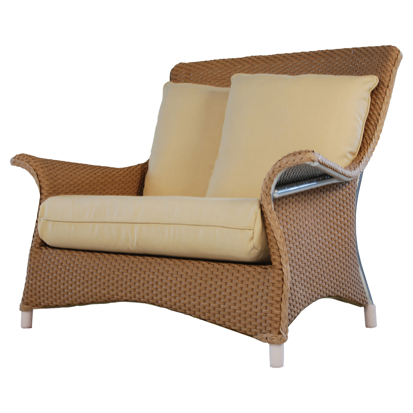 Lounge Chair And A Half Lloyd Flanders Mandalay All Weather Wicker Lounge Chair