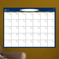 Dry Erase Blank Month Calendar Wall Decal at Hayneedle