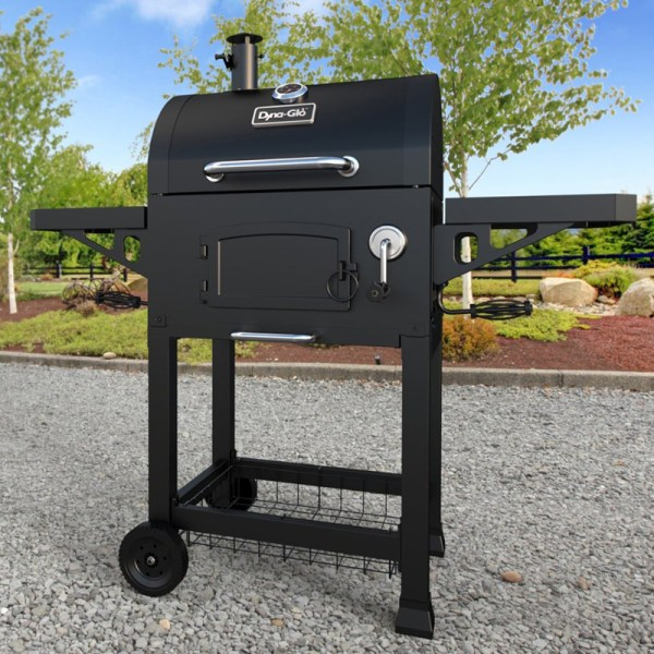 Dyna-glo Heavy-duty Charcoal Grill With Cast Iron Grates - Grills