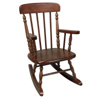 Kids Spindle Rocking Chair - Kids Rocking Chairs at Hayneedle