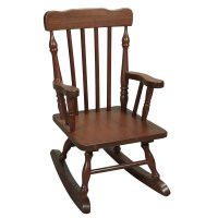 Wooden Rocking Chair - Home Decorating Ideas