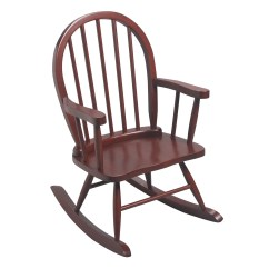 Child Rocking Chair Outdoor Dinning Table Chairs Gift Mark Windsor Childrens 3600 Cherry