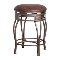 Hillsdale Montello 30 in. Backless Swivel Bar Stool