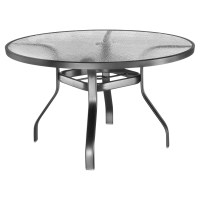 Lloyd Flanders Mandalay 54 in. Round Sea Glass Patio ...