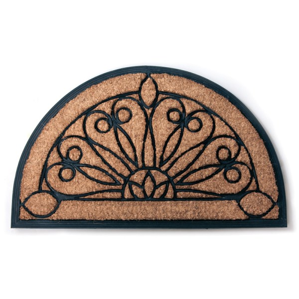 Half Round Rubber Door Mats