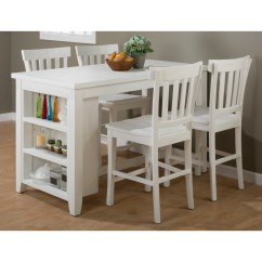 White Small Kitchen Table Homemade Cabinets Jofran Madaket Counter Height Dining Tables