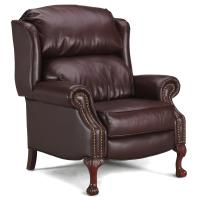 Leather Wingback Recliner Chair For Sale