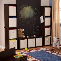 Classic Playtime Wall Unit - Espresso - Toy Storage at ...