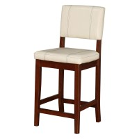 Linon Milano 24 in. Counter Stool