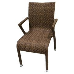 Outdoor Dining Chairs Stackable Desk Chair Ballard Design Marstone Arm