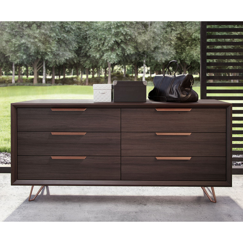 Modloft Grand 6 Drawer Dresser  Dressers at Hayneedle