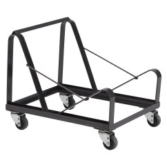 Folding Chair Cart Portable Office National Public Seating 8600 Series Stacking