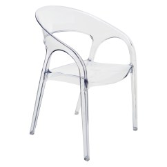 Clear Dining Chair Iron Horse Chairs Nuevo Vapour Stackable