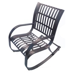 Wrought Iron Rocking Chair Lift Recliner Accessories Oakland Living Noble Patio