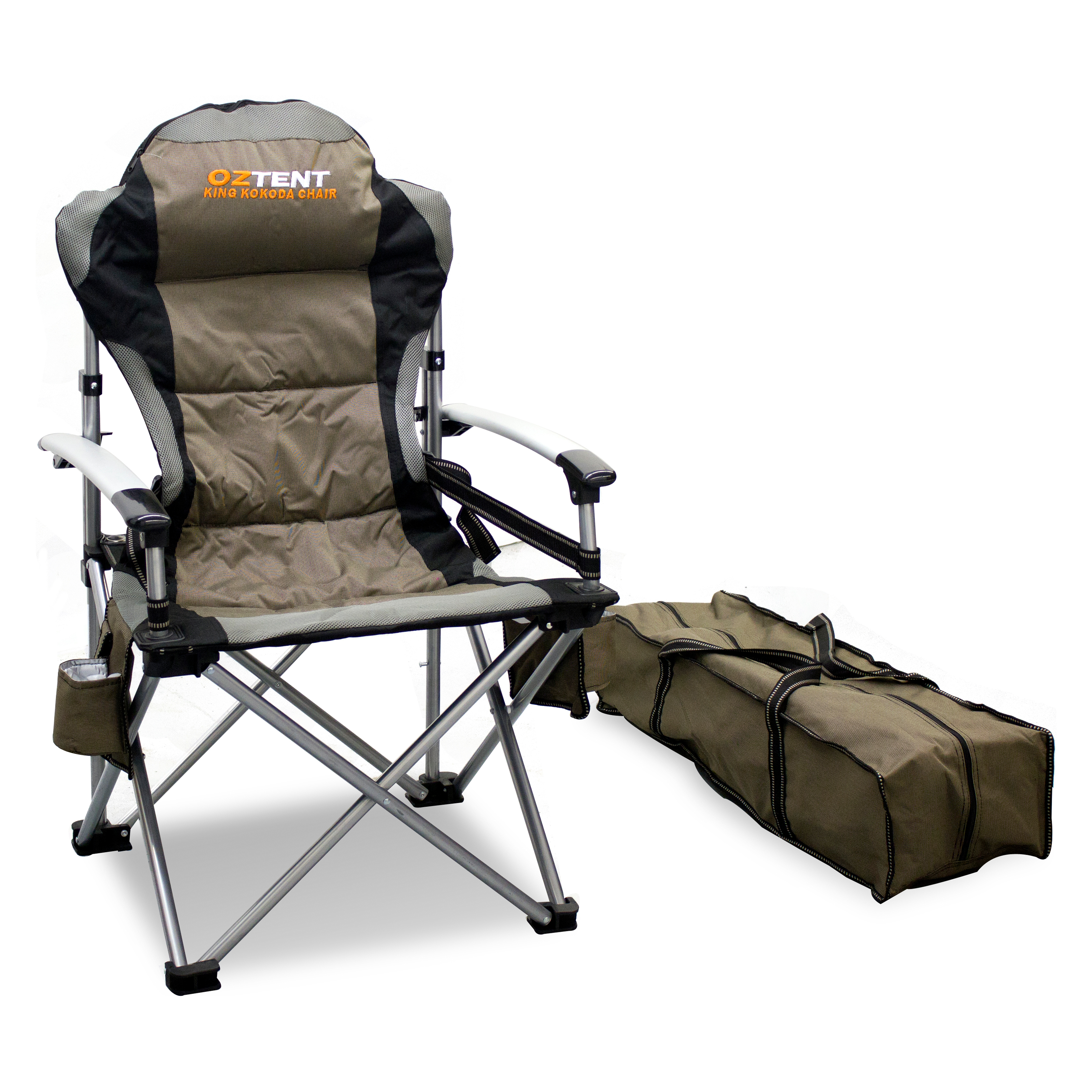 oztent king kokoda chair review ohio state bean bag lawn shop your way online