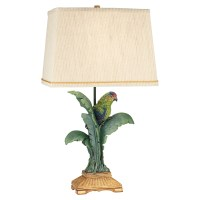 Pacific Coast Lighting Tropical Parrot Table Lamp - Table ...