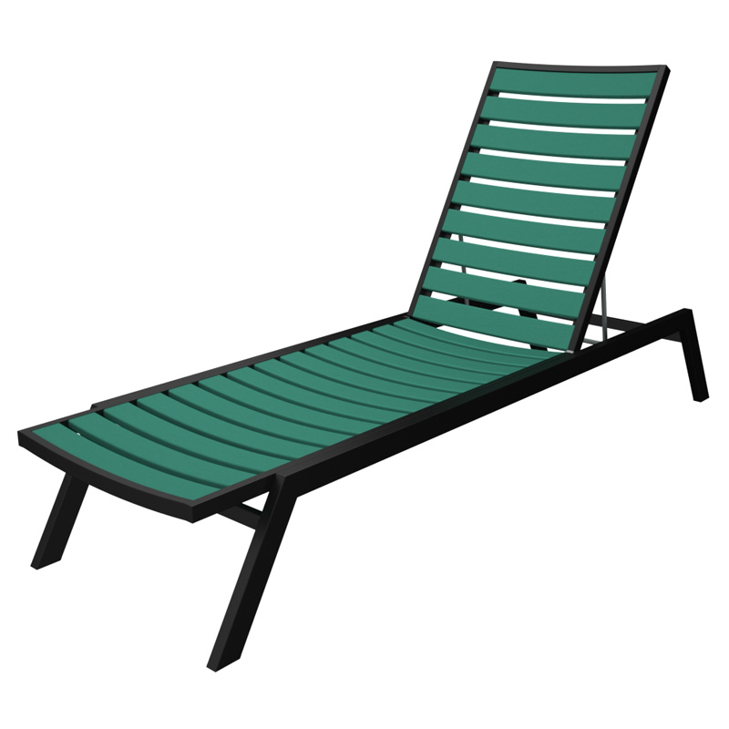 Recycled Plastic Chaise Lounge Chairs