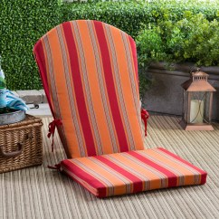 Sunbrella Adirondack Chair Cushions Cheap Bean Bag Chairs Walmart Polywood 47 75 X 22 In Seashell