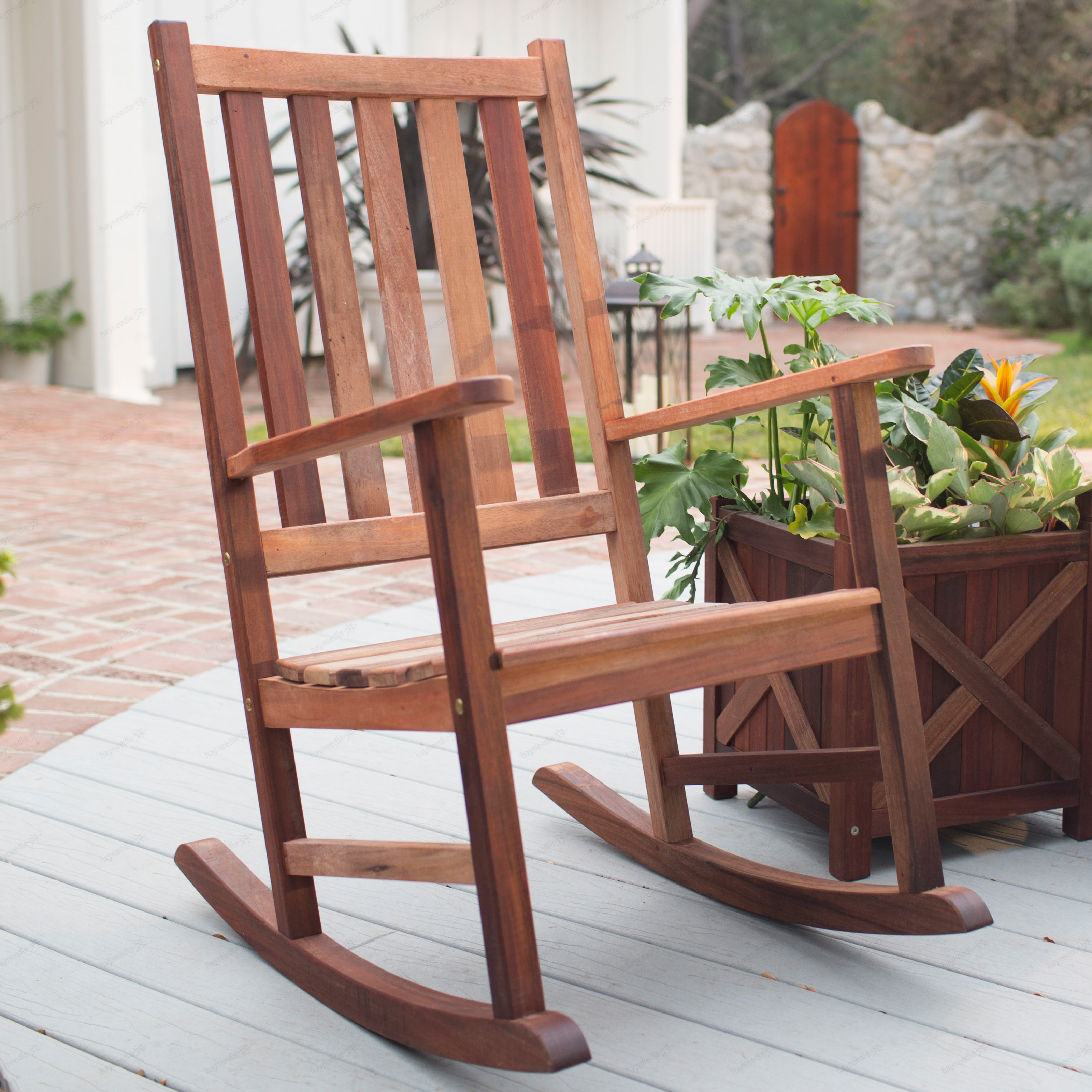 Rocky Chair Belham Living Richmond Heavy Duty Outdoor Wooden Rocking