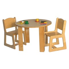 Daycare Table And Chair Set Adjustable Piano Strictly For Kids Preferred Mainstream Preschool Round