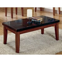 Steve Silver Montibello Granite Top Coffee Table - Coffee ...