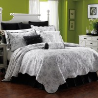 Lenox Moonlit Garden Quilt Bedding Set at Hayneedle