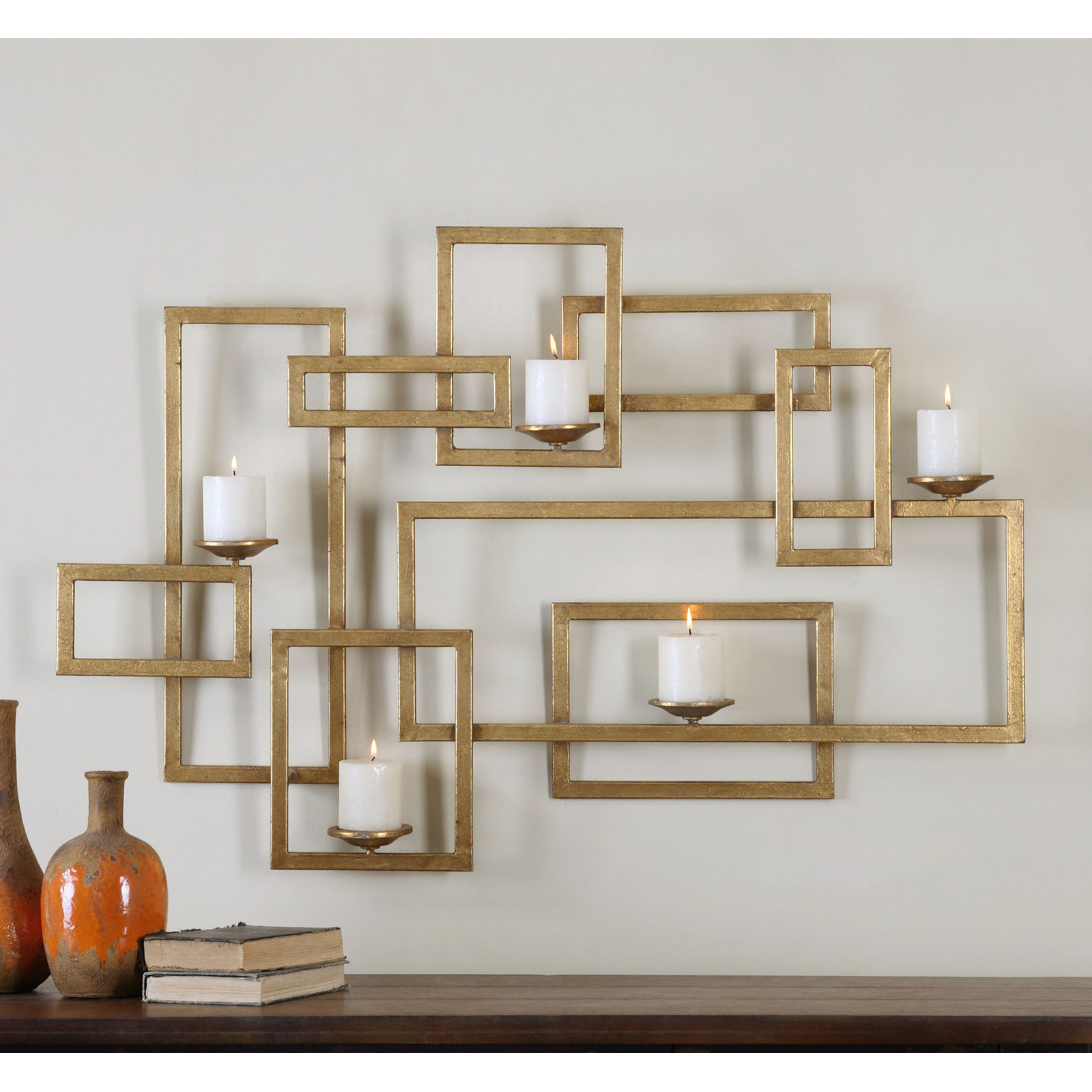 Uttermost Brighton Gold Wall Sconce