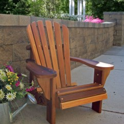 Adirondack Chair Wood Good Posture Reading Country Childrens Cedar