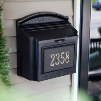 Whitehall Personalized Wall Mount Mailbox
