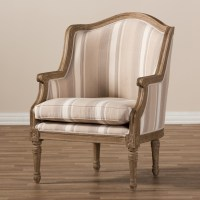Baxton Studio Charlemagne French Accent Chair - Accent ...