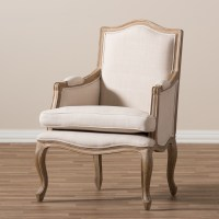 Baxton Studio Nivernais French Accent Chair - Accent ...