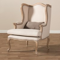 Baxton Studio Auvergne French Accent Chair - Accent Chairs ...