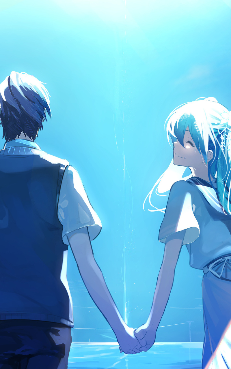 Anime Couple Holding Hands : anime, couple, holding, hands, 800x1280, Anime, Couple, Holding, Hands, Hatsune, Nexus, 7,Samsung, Galaxy, 10,Note, Android, Tablets, Wallpapers,, Images,, Backgrounds,, Photos, Pictures