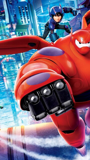 360x640 Big Hero 6 Movie HD 360x640 Resolution HD 4k Wallpapers. Images. Backgrounds. Photos and Pictures