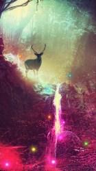 4k deer fantasy magic artwork iphone wallpapers 5s hd ipod 5c wm touch artist 1354 backgrounds