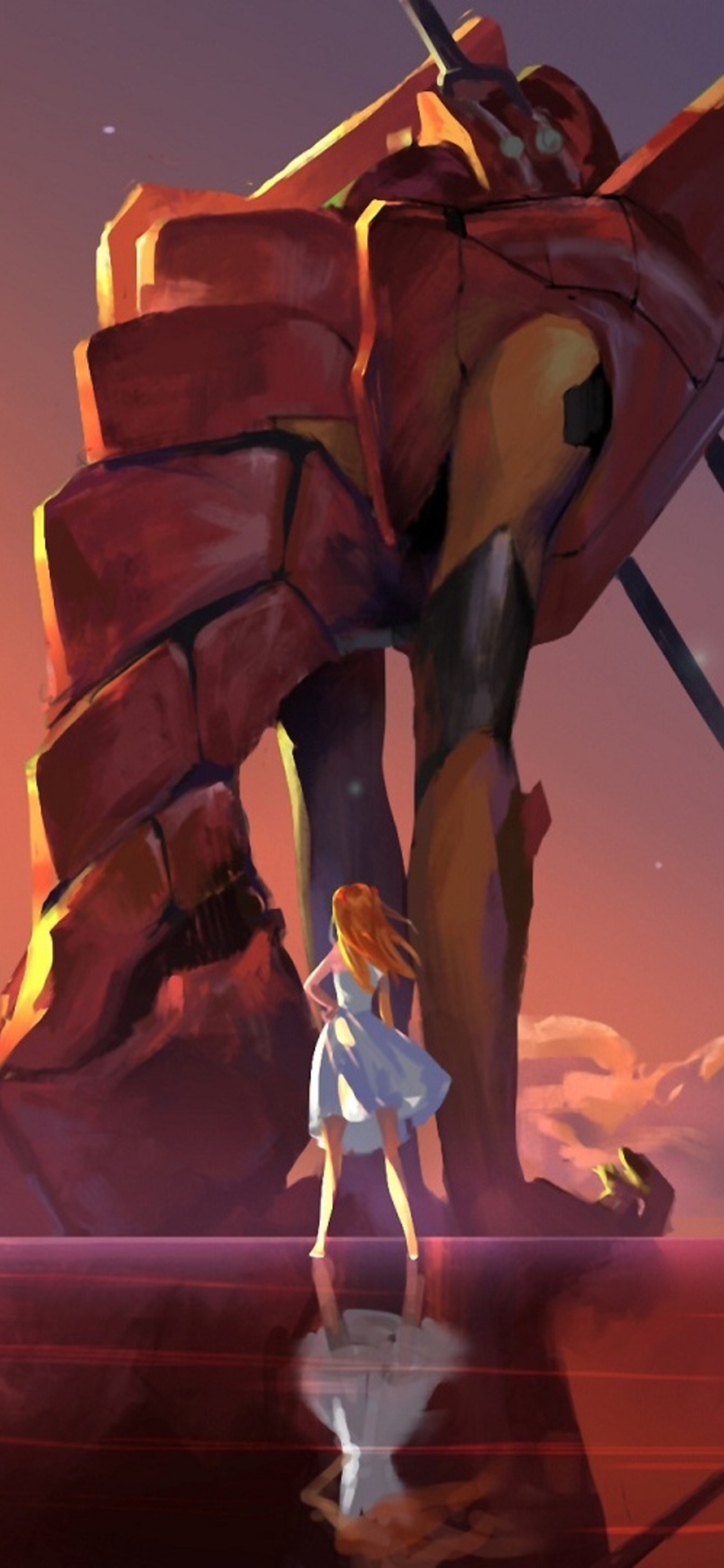 Neon Genesis Evangelion Wallpaper 4k : genesis, evangelion, wallpaper, 1125x2436, Genesis, Evangelion, Iphone, XS,Iphone, 10,Iphone, Wallpapers,, Images,, Backgrounds,, Photos, Pictures