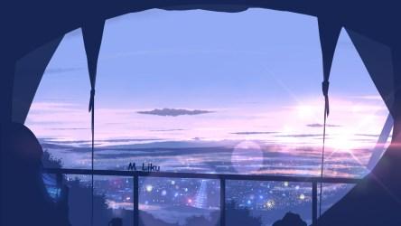 Anime Wallpaper HD: Anime Scenery Wallpaper 1366x768