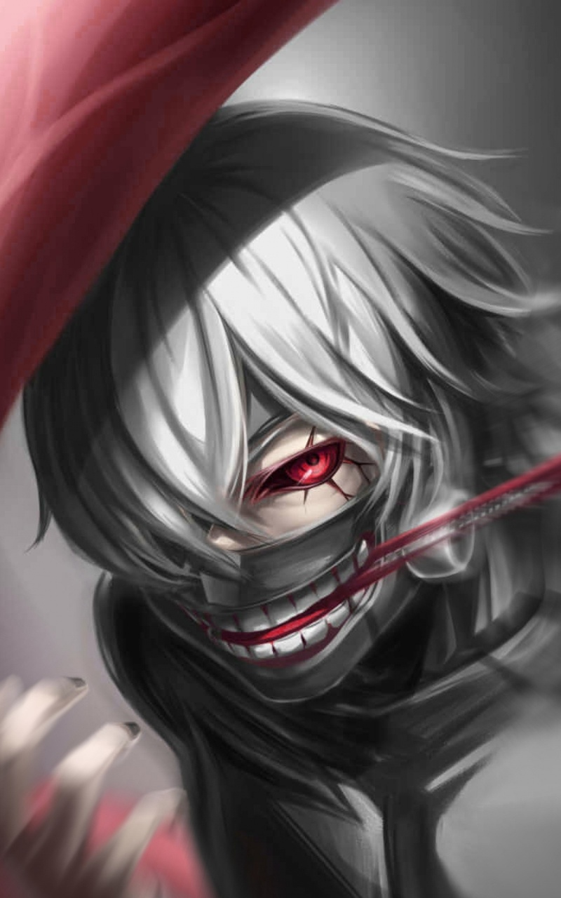 800x1280 Tokyo Ghoul Kaneki Ken 4k Nexus 7 Samsung Galaxy Tab 10 Note Android Tablets Hd 4k Wallpapers Images Backgrounds Photos And Pictures