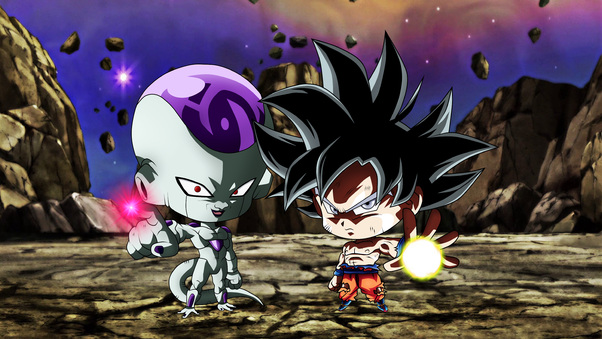 Cute Wallpapers Chibi Animals Chibi Frieza Goku Ultra Instinct Dragon Ball Hd Anime 4k