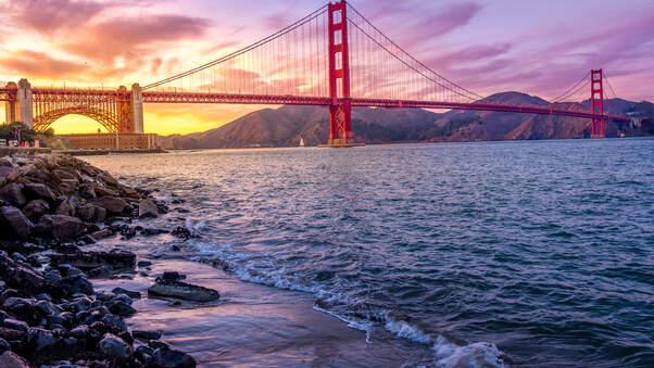 Hd Wallpapers Girls 1366x768 Golden Gate Bridge Us 5k 2019 Hd World 4k Wallpapers